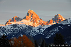 Back to Work (James Neeley) Tags: landscape webcam westside tetons grandteton jamesneeley flickr23 idahoside