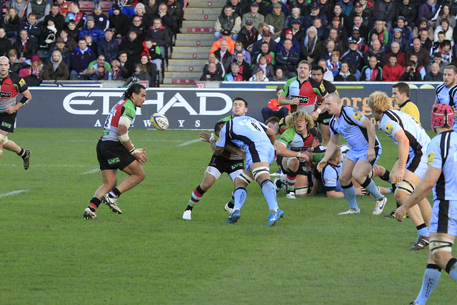 Danny Care takes a hit