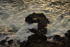 The power of nature (webeagle12) Tags: ocean park sunset sea vacation italy water bay coast boat nikon europe riviera italia waves force dusk liguria cliffs lovers trail national terre mm nikkor cinque loverslane ligurian d90 1685 thefivelands