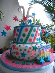 IMG_2208 (Celebrate With A Cake) Tags: birthday cake stars stripes sweetsixteen fondant sixteenthbirthday wwwcelebratewithacakenet