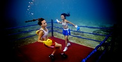 UW-ChineseBoxing 25 (steadichris) Tags: underwater models chinese scuba lingerie cebu boxing breathhold