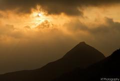 Open (gtsomething) Tags: china sunset mountain silhouette yellow hongkong asia warm asiansunset gtsomething