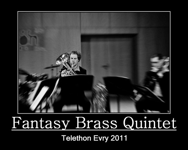 Evry Daily Photo - TELETHON Evry 2011 - Concert Fantasy Brass Quintet 9