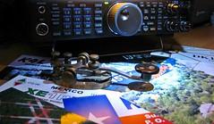 My eyes & ears on the world, ham radio... (Daryll90ca) Tags: qsl hamradio qslcards