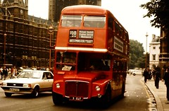 772 (togetherthroughlife) Tags: bus london routemaster 1978 whitehall 168 rm1003 3clt