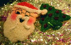 Santa and His Tree Cookies