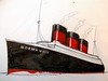 Normandie Sketch (CityOfDave) Tags: sketch ship drawing normandie liner oceanliner passengership