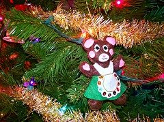 Day 41 (Jessi Trouble) Tags: bear christmas tree christmastree ornament 365project