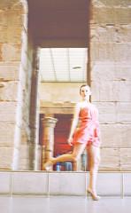 (isabella victoria) Tags: art fashion museum dress heels elegant simple metropolitan classy