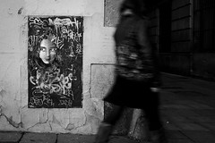 Painting (_DP_) Tags: barcelona street bw murales fujix10