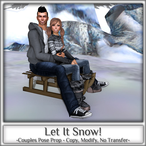Magnifique - LET IT SNOW! (Couples Pose Prop)