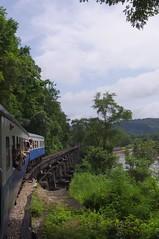 Kanchanaburi: Wang Pho Viaduct (Marcel Bonfils) Tags: train thailand railway wangpho