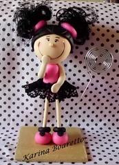 Amostra para um aniversrio de 15 anos (Costurinhas por Karina Boaretto) Tags: biscuit cupcake portarecados lembrancinha15anos