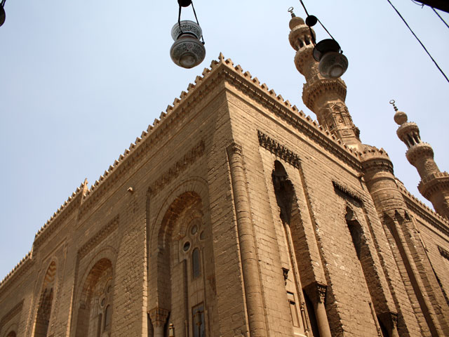 Exterior of Rifai Mosque from Sultan Hassan's View
