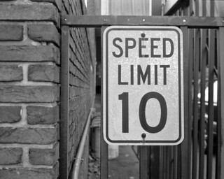 speed limit 10.