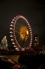 Big Wheel, Alexanderplatz (Isle of Sam) Tags: city berlin wheel germany big europe december alexanderplatz 2011