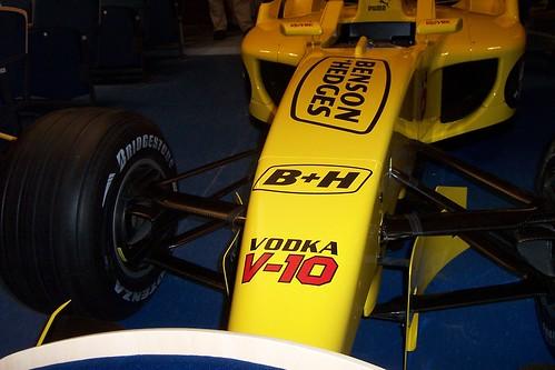 Jordan EJ13 F1 Car