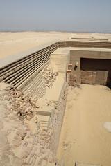 Tumba del rey Den , Umm el qaab , Abydos , Abidos , Egipto , Egypt ,Egypte, Egipte. 1  Dinasta , first dynasty. (Soloegipto) Tags: den egypt egipto egipte abydos abidos ummelqaab tombofden