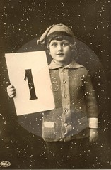 Happy New Year! (Glckliches Neues Jahr!) (pellethepoet) Tags: boy one 1 child postcard number photograph happynewyear knabe weco neujahrswunsch gramophonepostcard wecotonbildpostkarte hanswiesnerco