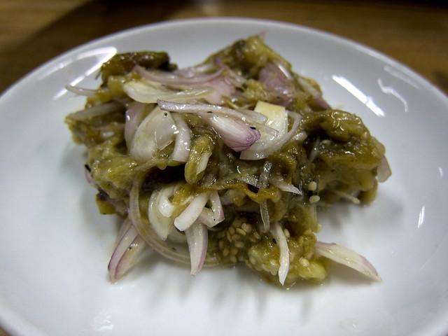 Eggplant Salad (Kayinthee Thoke)