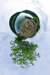 Lac de Narlay (2) (gadl) Tags: panorama france gimp lac projection jura planet handheld 360 stereographic hugin plante enblend narlay mathmap stereographicprojection lefrasnois lacdenarlay 39130