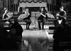 CUARTETO CORLEN - SONIDOS DE INVIERNO  MSICA EN NAVIDAD - VEGAS DEL CONDADO 25.12.11 (juanluisgx) Tags: christmas xmas music de french navidad concert spain concierto leon musica horn cor quartet cuarteto trompa trompas juventudesmusicalesdeleon vegasdelcondado corleon fundacioncerezalesantoninoycinia jeunessesmusicales 251211