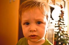 Retrato de Bauti. (TomiSanchez) Tags: blue portrait baby azul eyes nikon retrato ojos bebe d5100