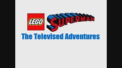 Superman - The Televised Adventures (2 Much Caffeine) Tags: flying dc tv lego superman superheroes moc manofsteel scrollingbackground scrollingbackdrop