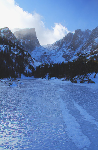 Dream Lake Ice