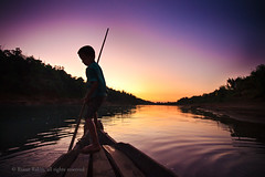 the little boatman (riasat rakin) Tags: boy river boat twilight sylhet bangladesh lalakhal littleboatman gettyimagesbangladeshq12012