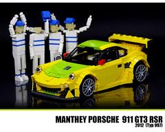 LEGO Porsche 911 GT3 RSR (Malte Dorowski) Tags: lego 911 porsche 2012 gt3 997 rsr manthey foitsop