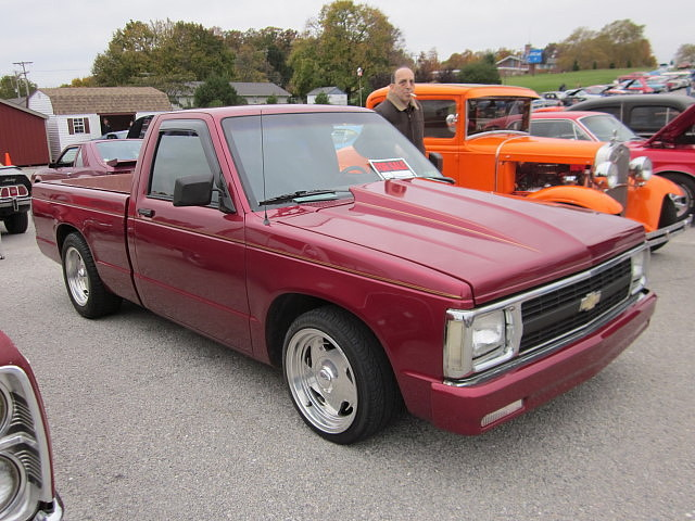 truck pickup chevy 1991 custom s10 cruisenight glenrockpa marketsatshrewsbury