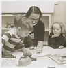 1953 Cynthia Moorhead at nursery school