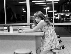 (May.Bird) Tags: coffee girl shop dress counter latenight napkins cari doughnuts yyellowbird