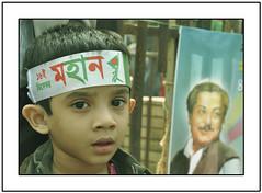 Revolution (  -SAM Nasim-  ) Tags: desktop wallpaper portrait baby beauty creativity photography freedom 1971 kid nikon war december day fighter child sam random flag victory 16 dhaka portfolio tradition liberation sheikh bangladesh tsc nasim mujib d90