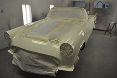 """1957 Ford Thunderbird E Code Dual Quad 312 • <a style=""""font-size:0.8em;"""" href=""""http://www.flickr.com/photos/85572005@N00/6703456373/"""" target=""""_blank"""">View on Flickr</a>"""