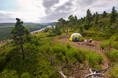 Point of View (Chris Arace) Tags: life statepark travel camping people trekking person hiking michigan lifestyle human editorial wilderness portfolio lakesuperior porcupinemountains lakeoftheclouds presqueisleriver puremichigan
