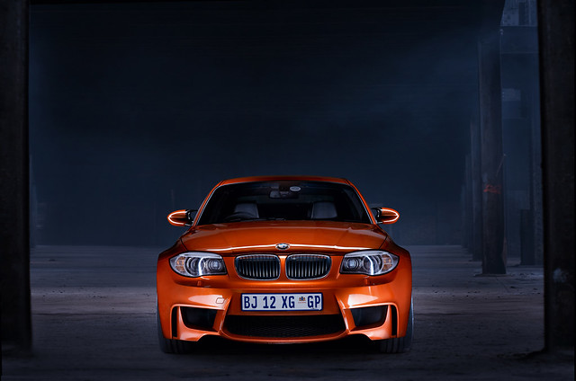 lightpainting bmw1seriesmcoupe