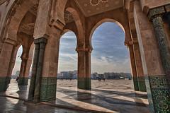 Moschea Hassan II - Casablanca (Simone Chierici_Boyetto) Tags: portrait canon desert fez 7d marocco marrakech moschea kasbah hassanii i maroccain 5dii
