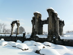 Martand in the Winter (varunshiv) Tags: kashmir suntemple martand mattan suryatemple