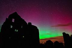 Kildrummy castle aurora, Grampian, Scotland (Kenny Muir) Tags: walter castle scotland aberdeen aurora fernandes grampian kildrummy