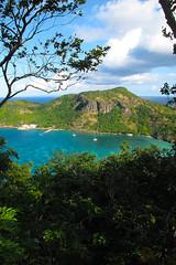Les Saintes island (ernst schade) Tags: ocean sea island bay boat sailing sail caribbean watersports atlanticocean westindies transat lessaints transatlanticcrossing