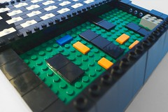 Inside detail from the back (hairydalek) Tags: old computer model lego computers retro historical sinclair zx81