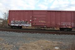 goon (total annihilation) Tags: railroad color art train bench graffiti panel tracks piece railfan freight goon blend