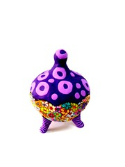 sugar bowl (**mira pinki krispil-colors of life ***) Tags: sculpture art animal cat handmade fimo clay pinki polymer        mirakris