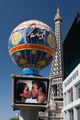 Paris City Of Love (unluckypixie) Tags: vegas summer paris love kiss balloon eiffel casino