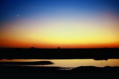 Sundown Nei Mongol (Frhtau) Tags: china winter people moon dessert village sundown land farmer province nei mongol provinz