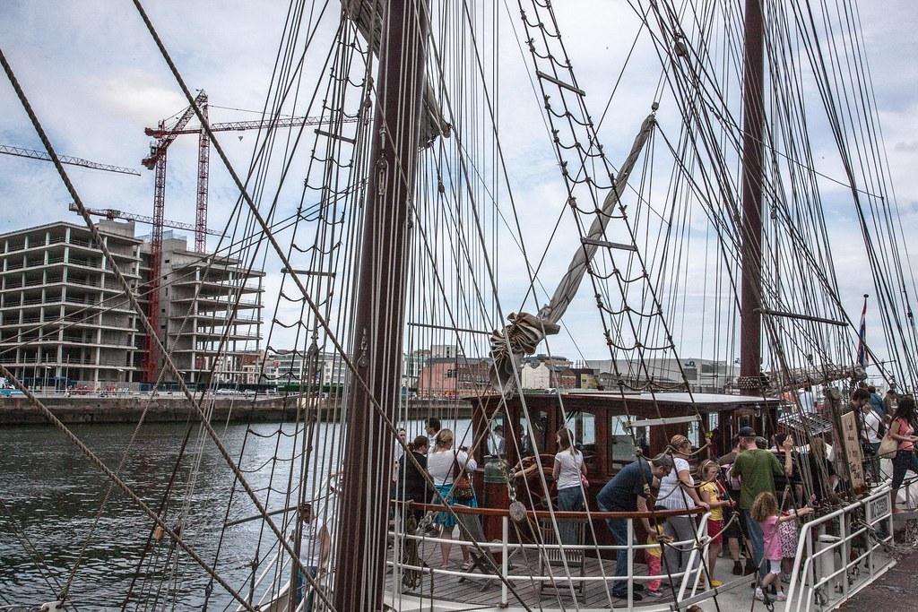 Tall Ships Visit Dublin Docklands