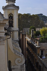 Rooftop view (Cathy de Moll) Tags: church rooftops romeitaly