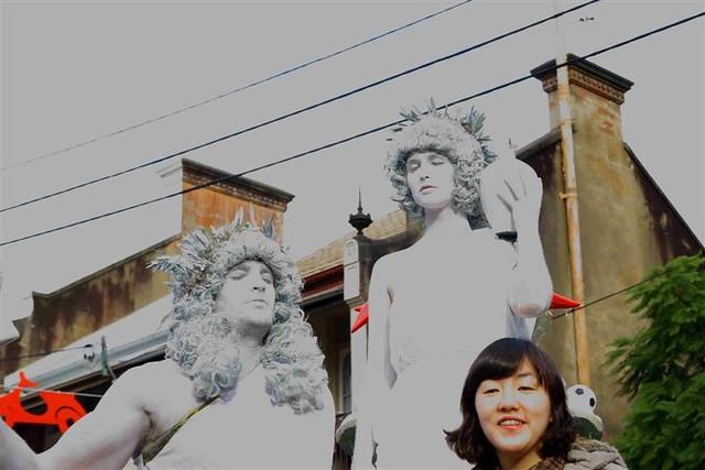 Italian Statue Bodyart